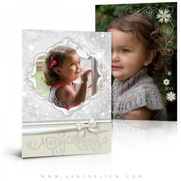 Snow Babies 5x7 Christmas Card