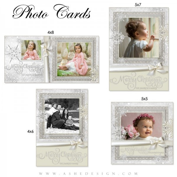 Snow Babies Photo Card Set