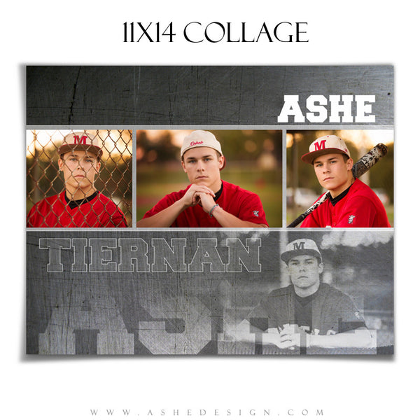 Ashe Design | Sports Collage 11x14 | Game Maker