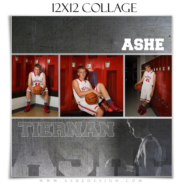 Ashe Design | Sports Collage 12x12 | Game Maker