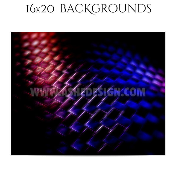 Backgrounds Set 16x20 | Spacial Patterns 2
