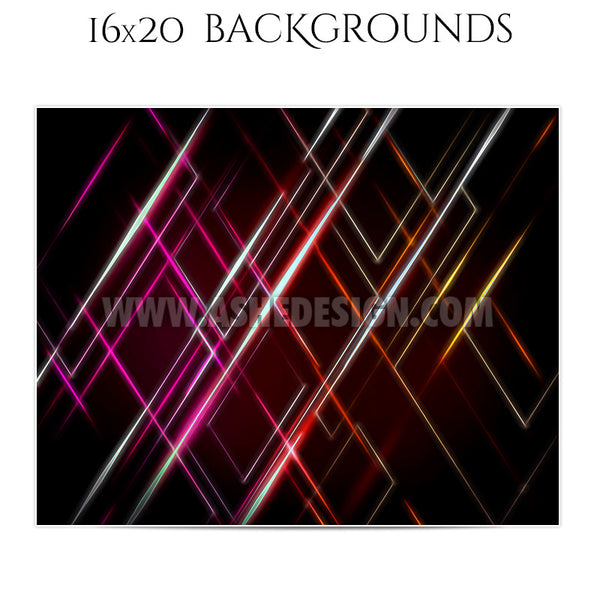Backgrounds Set 16x20 | Spacial Patterns 4