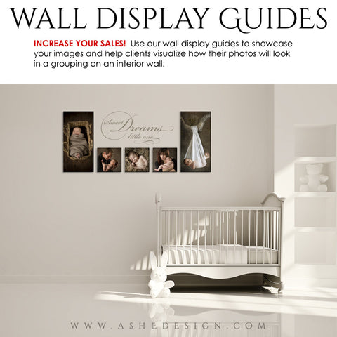 Photography Wall Display Guides | Simply White - Nursery1