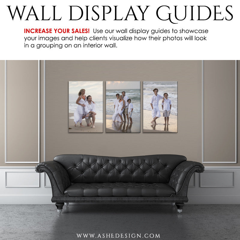 Photography Wall Display Guides | Simply Neutral - Leather Sofa1