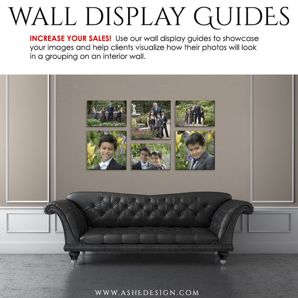 Photography Wall Display Guides | Simply Neutral - Leather Sofa2