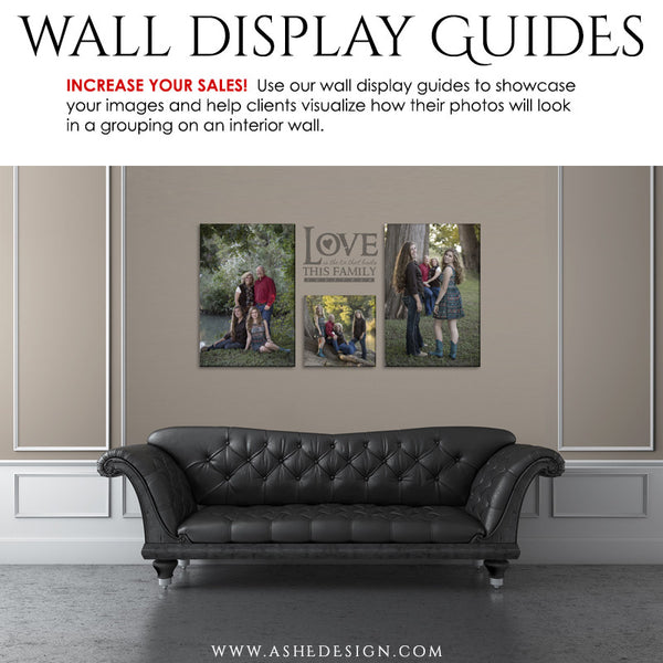Photography Wall Display Guides | Simply Neutral - Leather Sofa3