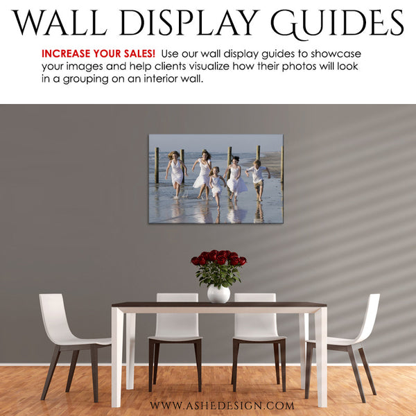 Photography Wall Display Guides | Simply Neutral - Dining Room3