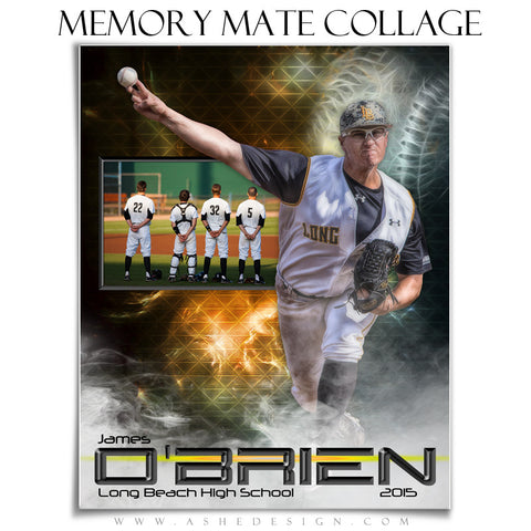 Sports Memory Mates 8x10 | Winning Streak Baseball/Softball