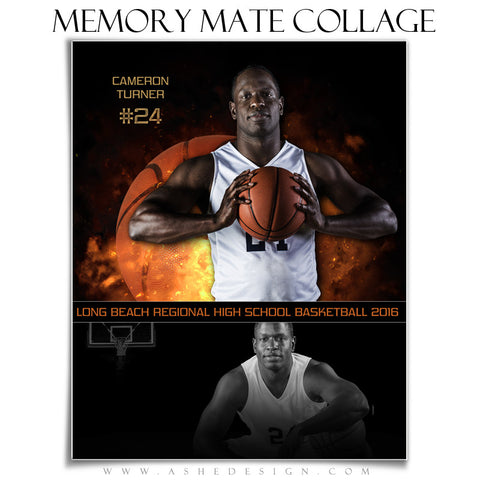 Sports Memory Mates 8x10 - Backdraft Basketball