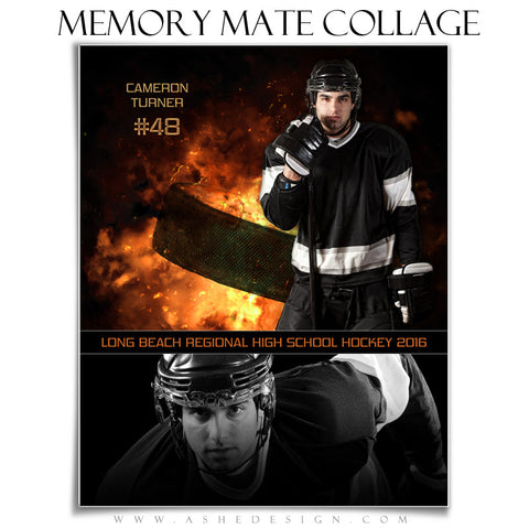 Sports Memory Mates 8x10 - Backdraft Hockey