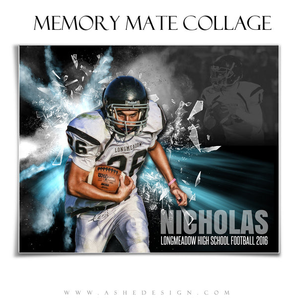 Sports Memory Mates 8x10 - Explode On The Scene