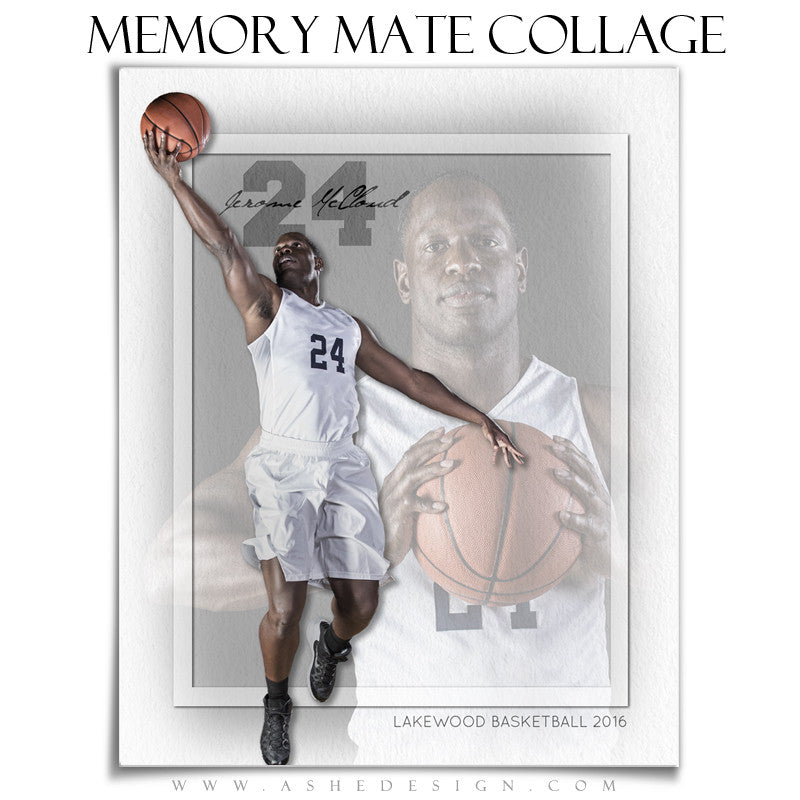 Sports Memory Mates 8x10 - Treasured Moments