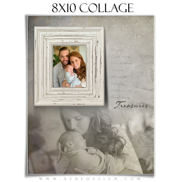 Family Collage 8x10 | Treasures