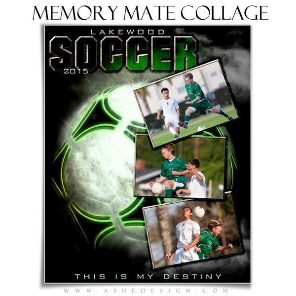 Sports Memory Mates | Up In Smoke-Soccer vt