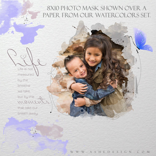 Ashe Design | Designer Gems Photo Masks | Color Wash example1