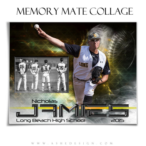 Sports Memory Mates 8x10 | Winning Streak Baseball/Softball hz