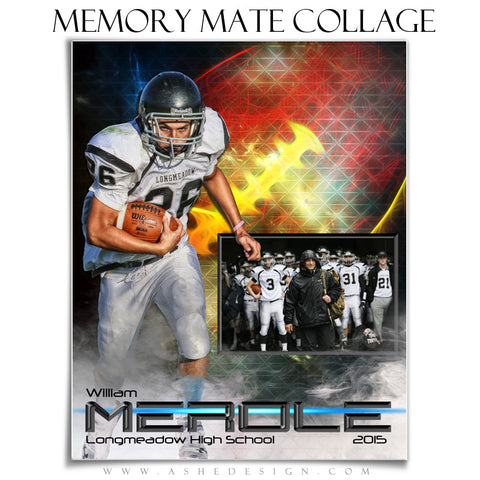 Sports Memory Mates 8x10 | Winning Streak Football vt