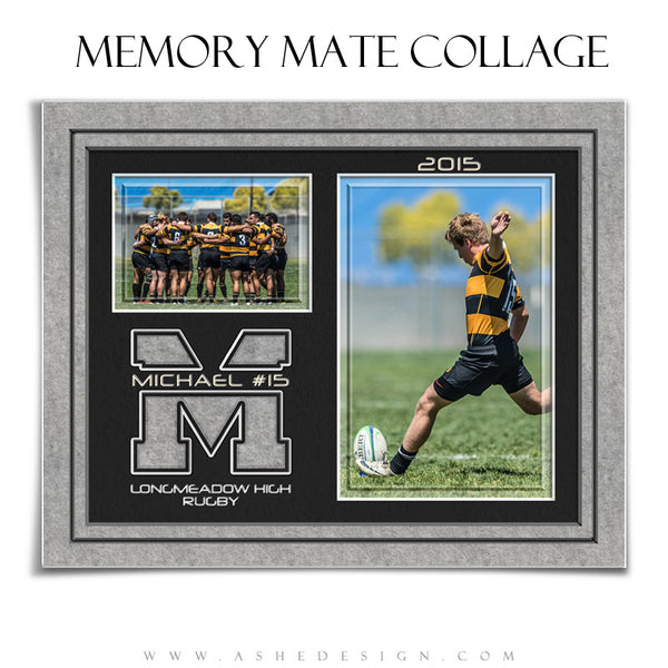 Sports Memory Mates | Varsity Letter rugby