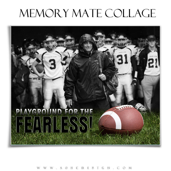 Sports Memory Mates 8x10 | Fearless hz