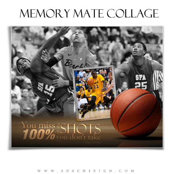 Ashe Design | Sports Memory Mates 8x10 - Center Court hz