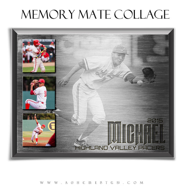 Memory Mate Sports Templates | Engraved Metal hz