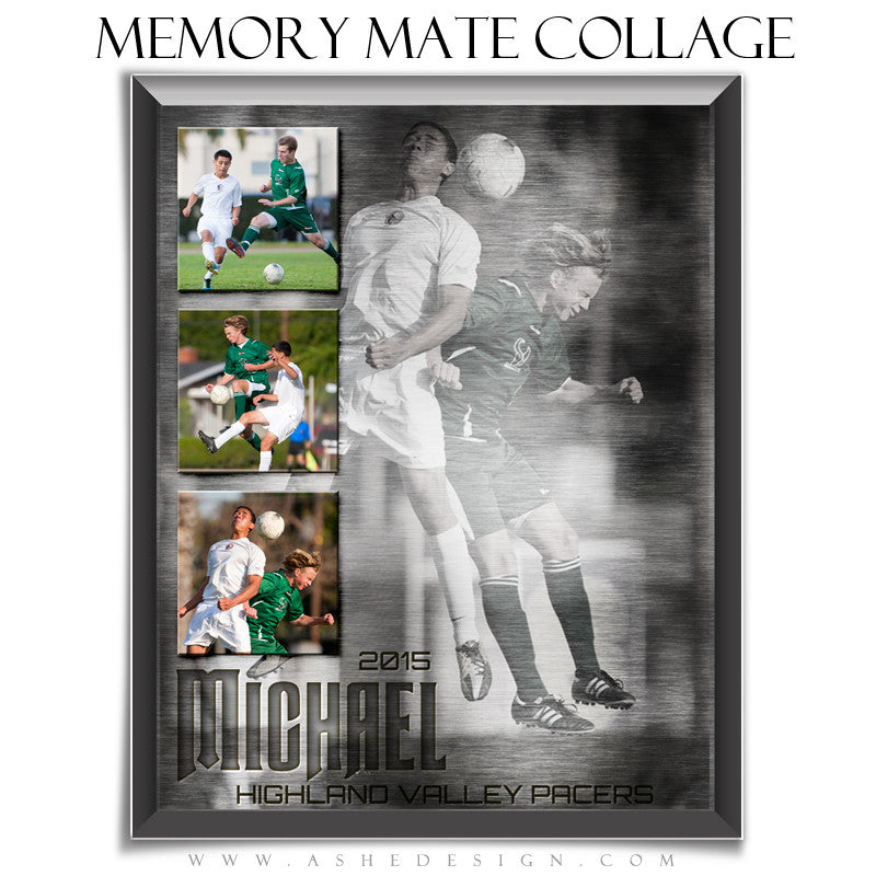 Memory Mate Sports Templates | Engraved Metal vt
