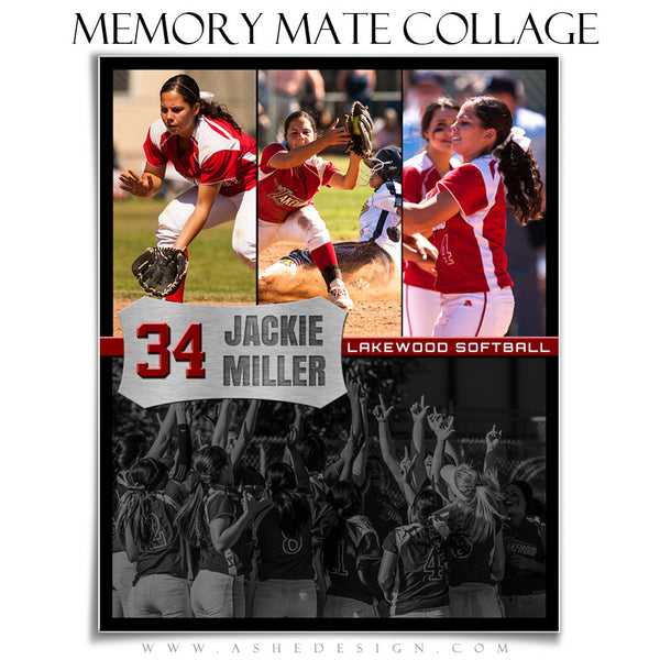 Memory Mate Sports Templates | On The Field vt
