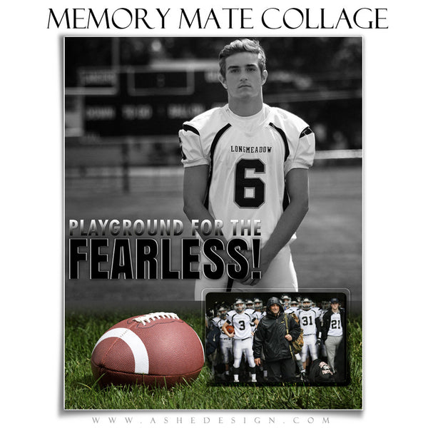 Sports Memory Mates 8x10 | Fearless vt