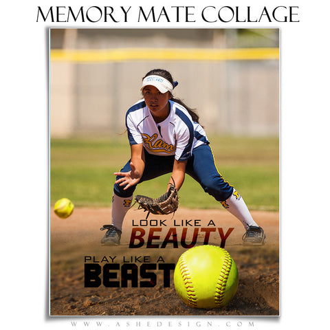 Ashe Design | Sports Memory Mates 8x10 - Beauty And The Beast vt