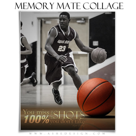 Ashe Design | Sports Memory Mates 8x10 - Center Court vt