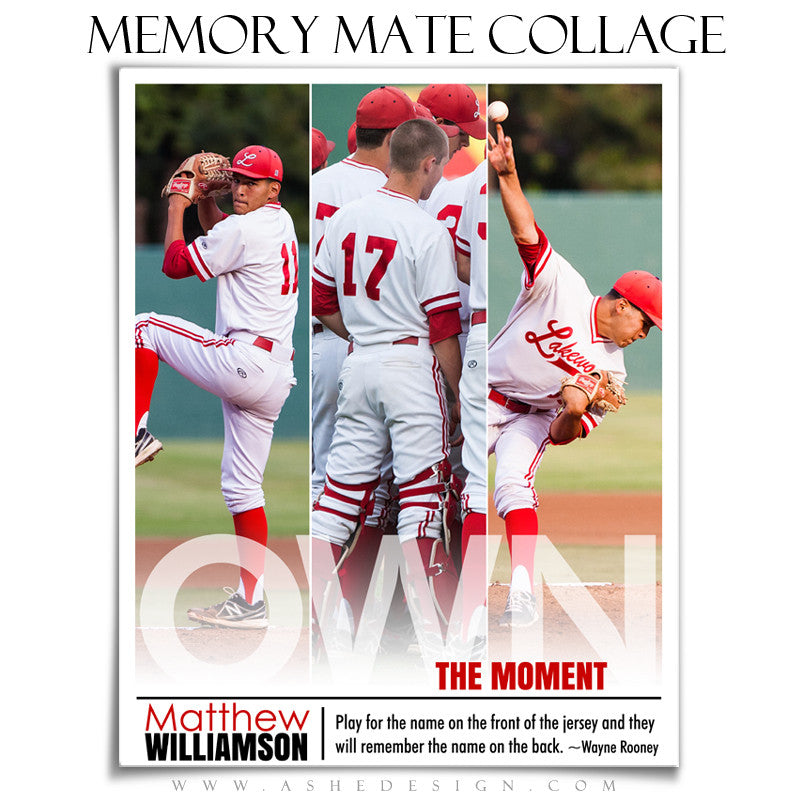 Sports Memory Mates | Own The Moment vt