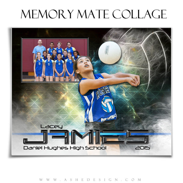 Sports Memory Mates 8x10 | Winning Streak Volleyball hz