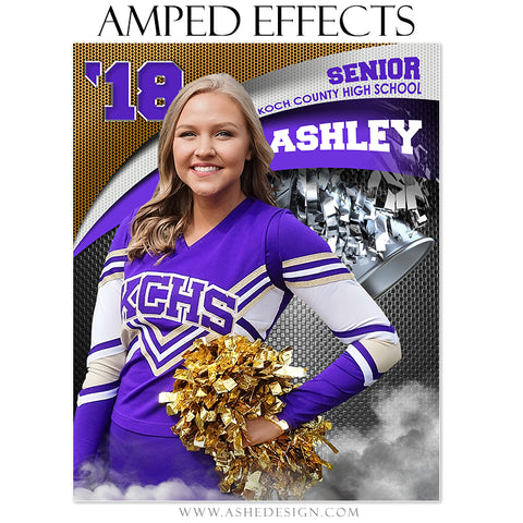 Ashe Design Amped Effect Triple Arch Cheer