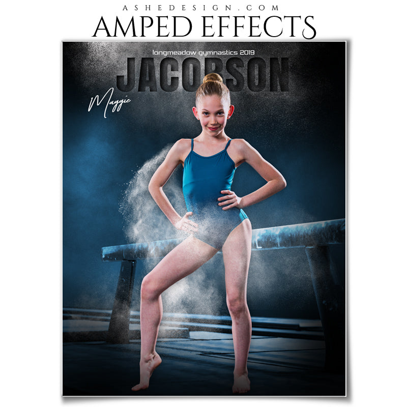 Ashe Design 16x20 Amped Effects - In The Shadows Balance Beam