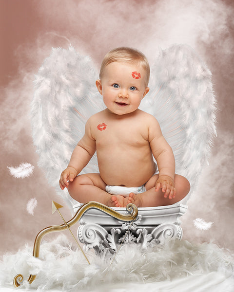 Digital Props 16x20 Backdrop Set - Cupid