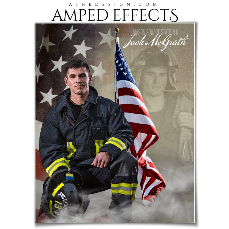 Ashe Design 16x20 Amped Effects Poster - Dream Weaver - American Hero