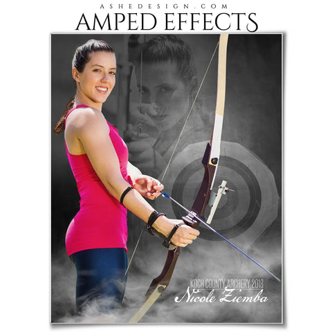 Ashe Design 16x20 Amped Effects Poster - Dream Weaver - Archery