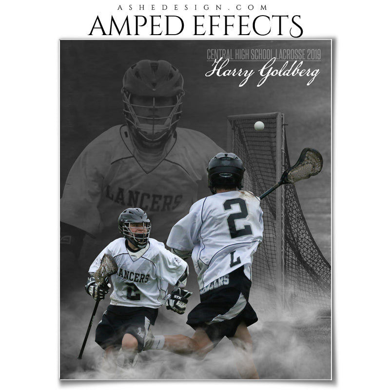 Ashe Design 16x20 Amped Effects Poster - Dream Weaver - Lacrosse