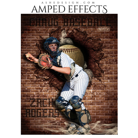 Amped Effects - Brick Blowout - Baseball