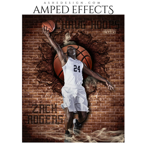 Amped Effects - Brick Blowout - Basketball