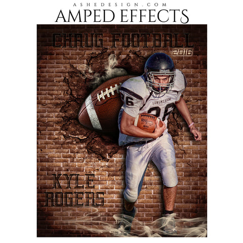 Amped Effects - Brick Blowout - Football