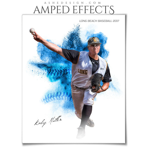 Amped Effects - Color Explosion - Baseball