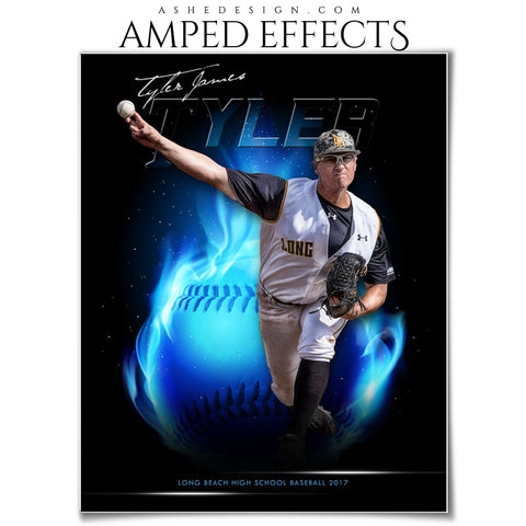 Amped Effects - Fireball - Baseball/Softball