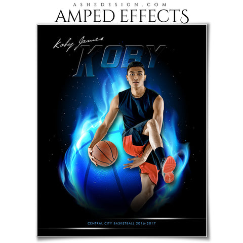 Amped Effects - Fireball - Basketball