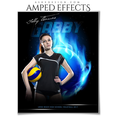 Amped Effects - Fireball - Volleyball
