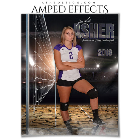 Amped Effects - Breaking Ground - Volleyball - Portrait