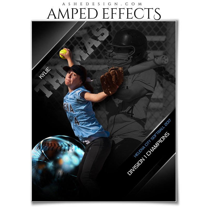 Amped Effects - High Gloss - Baseball/Softball