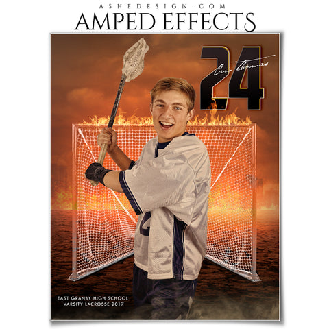 Ashe Design 16x20 Amped Effects Sports Photography Photoshop Templates Inferno Lacrosse