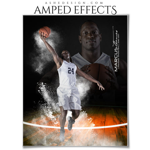 Amped Effects - Powder Blowout - Basketball