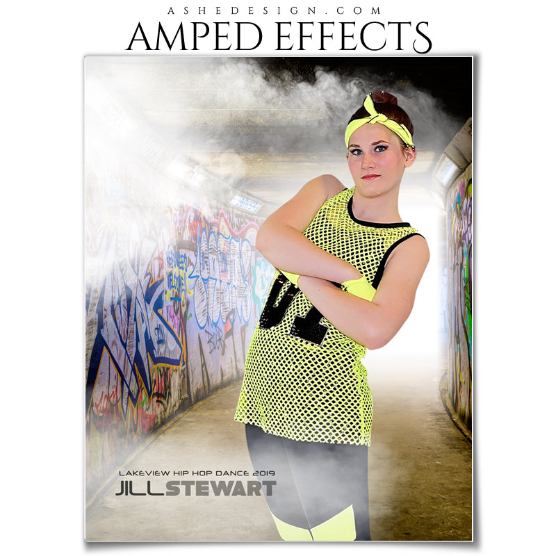 she Design | Amped Effects | Subway | Portrait